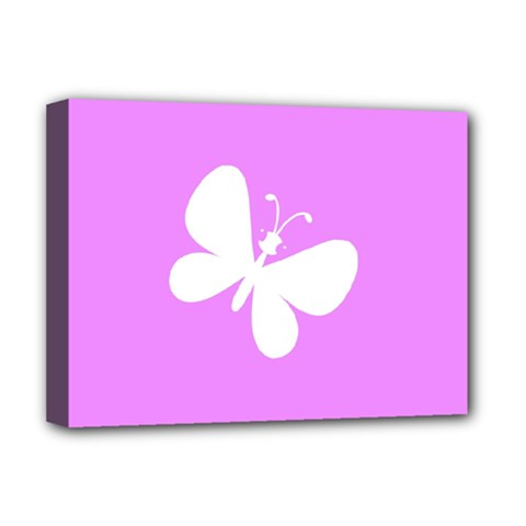 Butterfly Deluxe Canvas 16  X 12  (framed)  by Colorfulart23