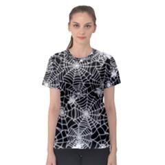 Cobweb Women s Full All Over Print Sport T Shirt
