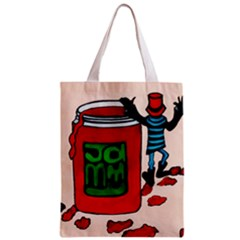 Jammy Dodger Full All Over Print Classic Tote Bag by JUNEIPER07