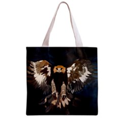 Golden Eagle Full All Over Print Grocery Tote Bag by JUNEIPER07