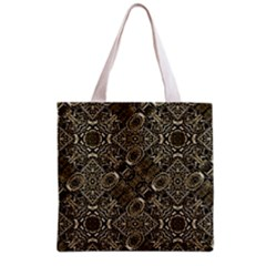 Steam Punk Pattern Print Full All Over Print Grocery Tote Bag by dflcprints