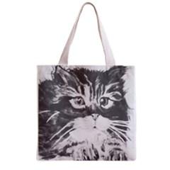 Kitten Bag Full All Over Print Grocery Tote Bag