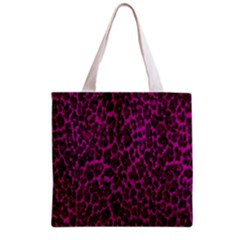 Pink Leopard  All Over Print Grocery Tote Bag by OCDesignss