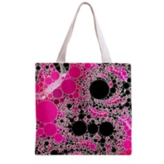 Pink Cotton Kandy  All Over Print Grocery Tote Bag by OCDesignss