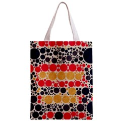 Retro Polka Dots  All Over Print Classic Tote Bag by OCDesignss