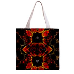 Lava Rocks  All Over Print Grocery Tote Bag
