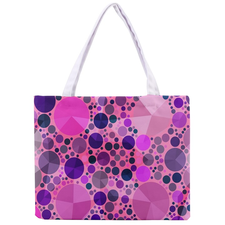Pink Bling  All Over Print Tiny Tote Bag