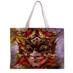 Star Clown All Over Print Tiny Tote Bag
