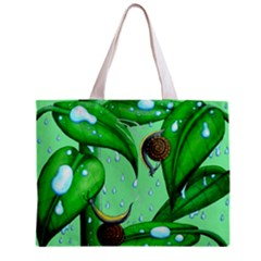 Playing In The Rain Tiny Tote Bag by retz