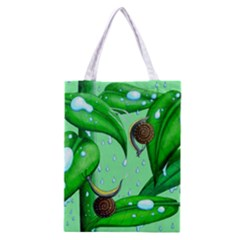 Playing In The Rain Classic Tote Bag by retz