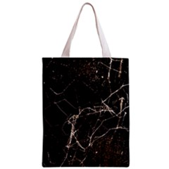 Spider Web Print Grunge Dark Texture Classic Tote Bag by dflcprints