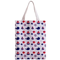 Nautical Sea Pattern Classic Tote Bag by StuffOrSomething