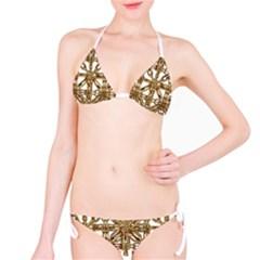 Chain Pattern Print Bikini