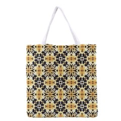Faux Animal Print Pattern Grocery Tote Bag