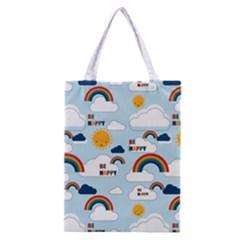 Be Happy Repeat Classic Tote Bag