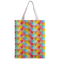 Triangle Pattern Classic Tote Bag by Kathrinlegg