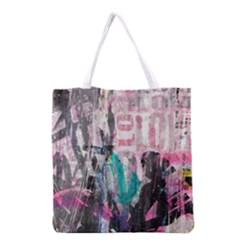 Graffiti Grunge Love Grocery Tote Bag