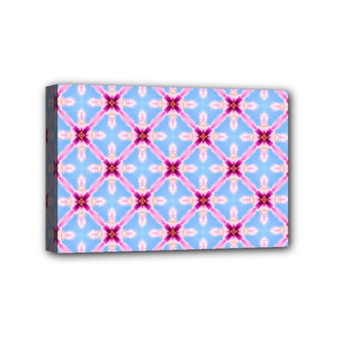 Cute Pretty Elegant Pattern Mini Canvas 6  X 4  by creativemom