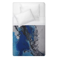 Blue Abstract No 3 Duvet Cover Single Side (single Size) by timelessartoncanvas