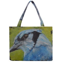 Blue Jay Tiny Tote Bags