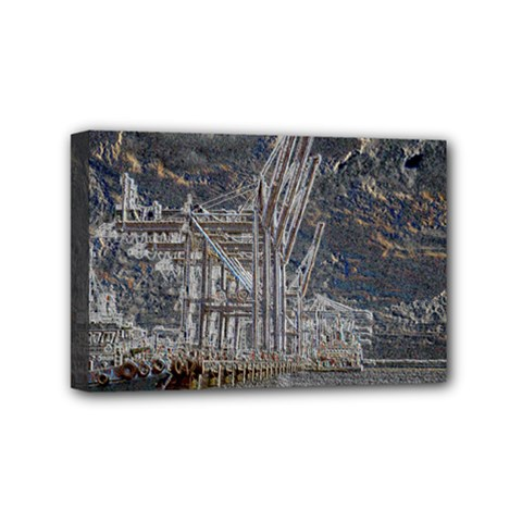 Industry V Mini Canvas 6  X 4  by InsanityExpressed