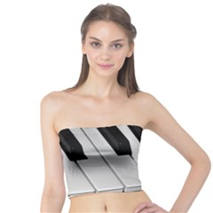 The Piano Player Women s Tube Tops by timelessartoncanvas