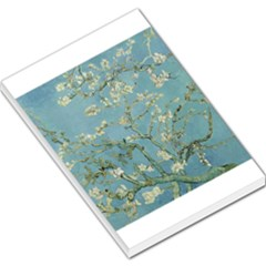 Almond Blossom Tree Large Memo Pads by ArtMuseum
