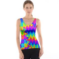 Amazing Acid Rainbow Tank Tops
