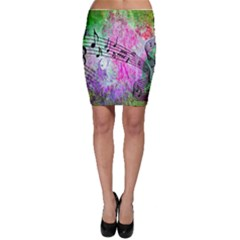 Abstract Music 2 Bodycon Skirts by ImpressiveMoments