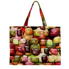 Stones 001 Zipper Tiny Tote Bags
