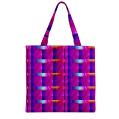 Pink Cell Mate Zipper Grocery Tote Bags by TheWowFactor