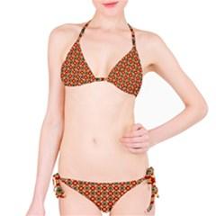 Cute Pretty Elegant Pattern Bikini Set