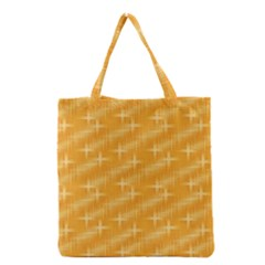 Many Stars, Golden Grocery Tote Bags