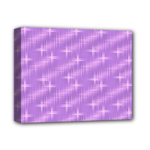 Many Stars, Lilac Deluxe Canvas 14  X 11  by ImpressiveMoments