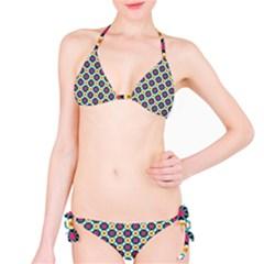 Cute Abstract Pattern Background Bikini Set