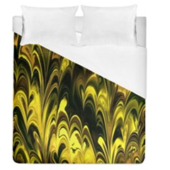 Fractal Marbled 15 Duvet Cover Single Side (full/queen Size) by ImpressiveMoments