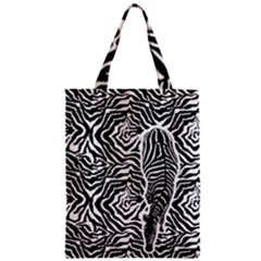 Zebra Classic Tote Bag by walala