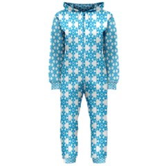 Cute Seamless Tile Pattern Gifts Hooded Jumpsuit (ladies)  by creativemom