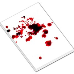 Blood Splatter 2 Large Memo Pads by TailWags