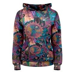 Steampunk Abstract Women s Pullover Hoodies by MoreColorsinLife