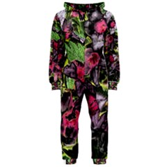 Amazing Garden Flowers 33 Hooded Jumpsuit (ladies)  by MoreColorsinLife
