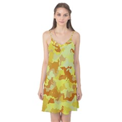 Camouflage Yellow Camis Nightgown by MoreColorsinLife