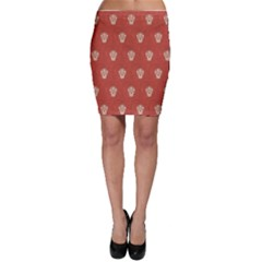 Skull Pattern Terra Bodycon Skirts by MoreColorsinLife