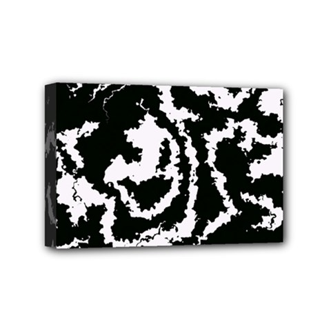 Migraine Bw Mini Canvas 6  X 4  by MoreColorsinLife