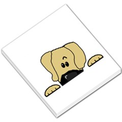 Peeping Fawn Great Dane With Undocked Ears Small Memo Pads by TailWags