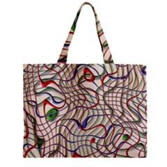 Ribbon Chaos 2 Zipper Tiny Tote Bags
