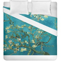 Blossoming Almond Tree Duvet Cover (king Size) by MasterpiecesOfArt