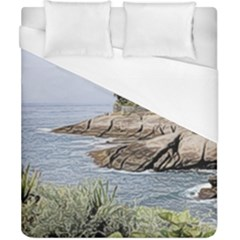 Tenerife,painted Version Duvet Cover Single Side (double Size) by MoreColorsinLife