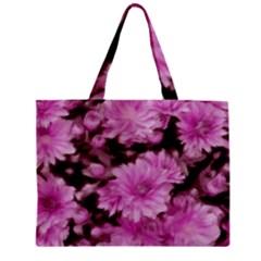 Phenomenal Blossoms Pink Zipper Tiny Tote Bags