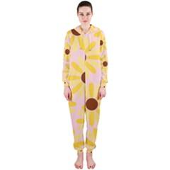 Sunflower Hooded Jumpsuit (ladies)